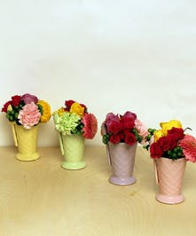 Ice Cream Social Bouquets