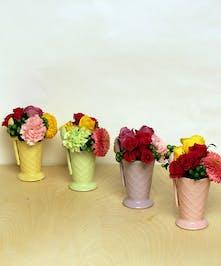 Ice Cream Social Bouquets