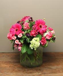 Ah Sam - Bay Area Florist: Jewel Tone Bouquet