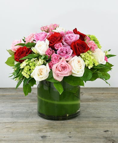Mixed Rose Bouquet Bay Area Florist - Ah Sam Florist