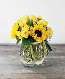 Inner Glow - Sunflower Lantern