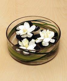 Ah Sam - San Francisco Bay Area Florist: Floating Gardenia Bowl