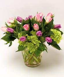 Thank You Pastel Tulip San Mateo (CA) Ah Sam Florist