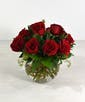 12 Roses. Seasonal price 2/10-15 for delivery & pick up.
