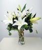 Regular - White Lilies 5 Stems