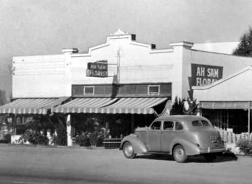 Ah Sam's original San Mateo location in the 1930s