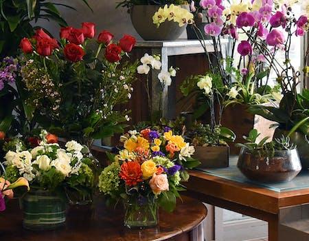 home decor silk floral arrangement floral decor tropical.htm best florist san mateo  california ah sam florist  ah sam florist